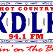 Hot Country 94.1 - KDLK-FM Logo