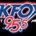KFOX 95.5 - KAFX-FM Logo