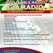 God is Able Radio Logo