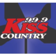99.9 Kiss Country Logo