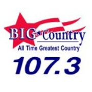Big Country 107.3 - KOMS Logo