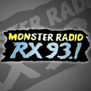 Monster Radio RX 93.1 Logo