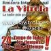 Emisora Internacional La Vitrola Logo