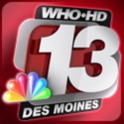 WHO TV Channel 13 Logo