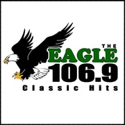 The Eagle 106.9 - KDGL Logo