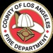 Los Angeles County Fire - Blue 6 Logo