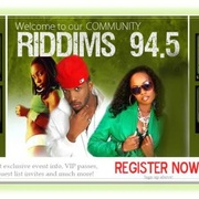 Riddims 94.5 Logo