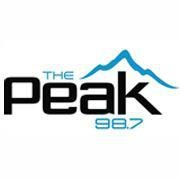 98.7 The Peak - 80s Channel Logo